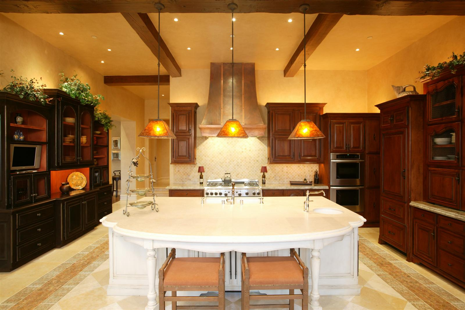 Kitchens the french tradition for Santa fe kitchen