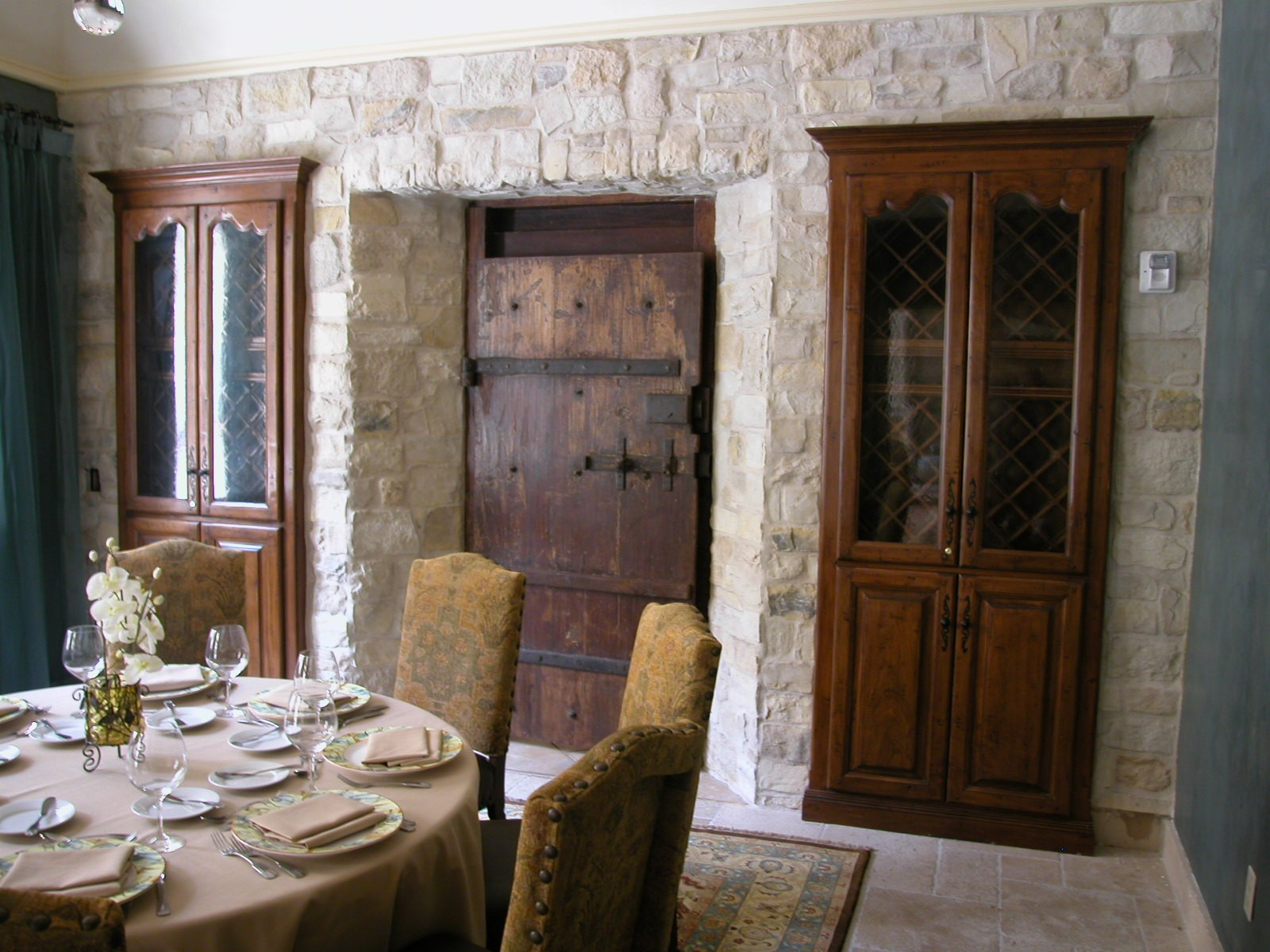 Armoires In Executive Dining Room
