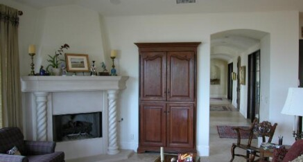 TV armoire in Palos Verdes