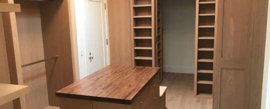 Master Closet in Brentwood