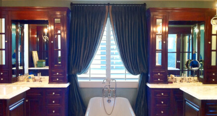 Master bath in Newport Beach